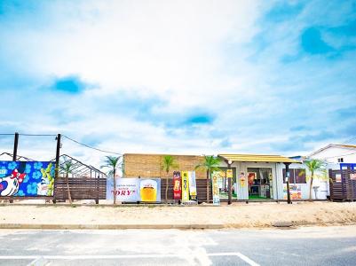 海の家玄海駐車場