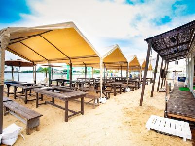 砂浜BBQスペース